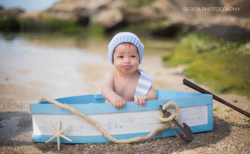 San Diego Photographer – Baby Boy Davi – 6 Months Old