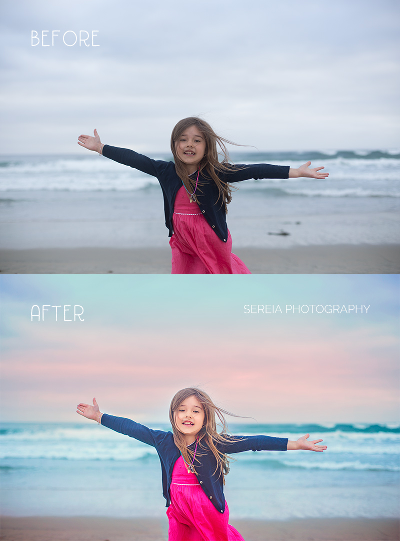 Cloudy Days Before and After