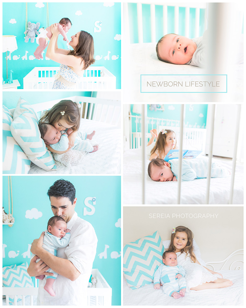Newborn Lifestyle Photography - La Jolla Photographer