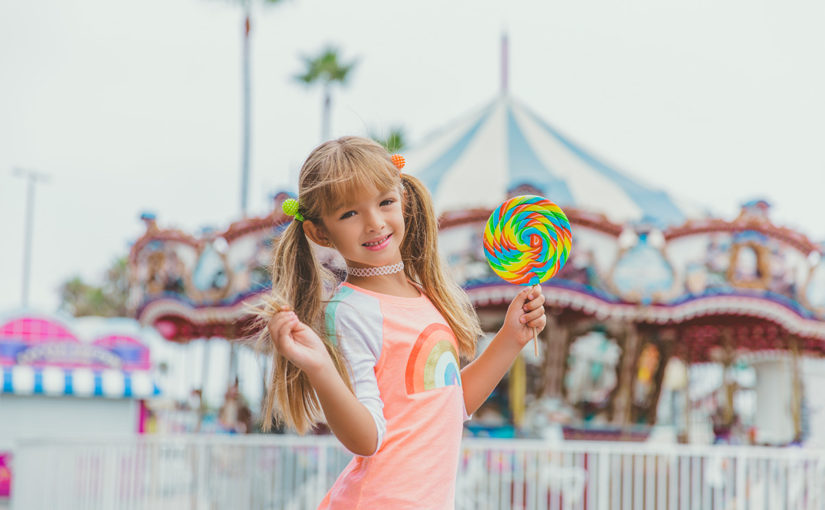 Belmont Park San Diego Photo Session with Roller Skates