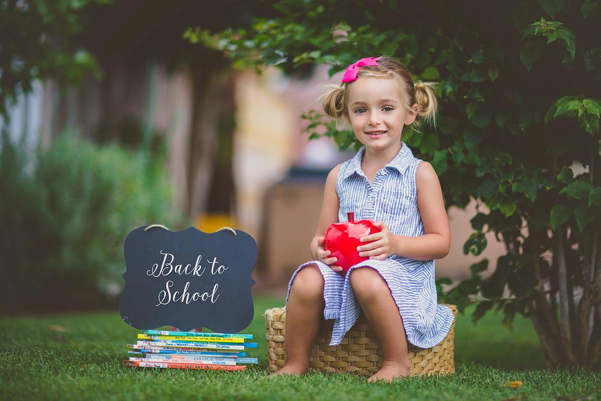 Back to School Photos - San Diego Child Photographer