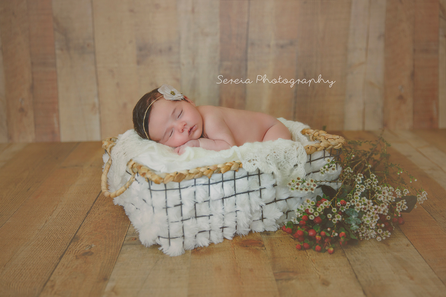 Newborn Photo Session with Sibling
